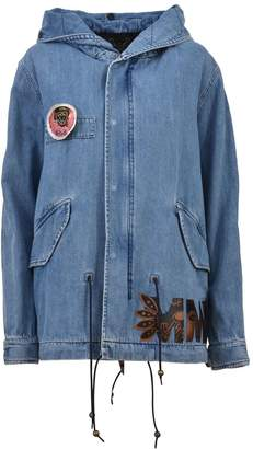Mr & Mrs Italy Denim Parka With Patches