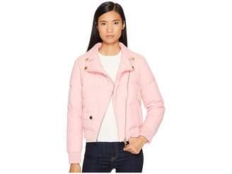 Moschino Moto Puffer Jacket Women's Coat