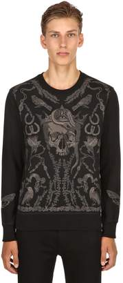 Alexander McQueen Found Treasure Embroidered Sweatshirt
