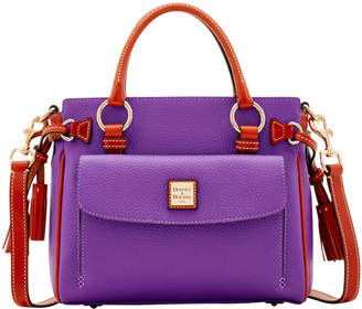 Dooney & Bourke Pebble Grain Medium Pocket Satchel