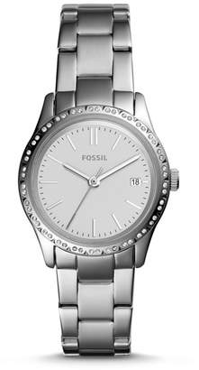 Fossil Adalyn Three-Hand Stainless Steel Watch