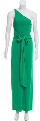 Issa One-Shoulder Maxi Dress