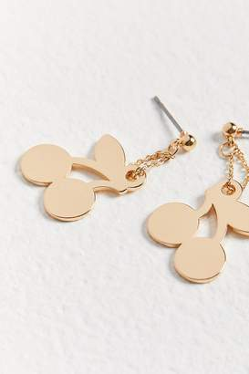 Urban Outfitters Penny Charm Drop Post Earring