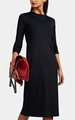 Rag & Bone Women's Russo Gathered Midi-Dress - Black