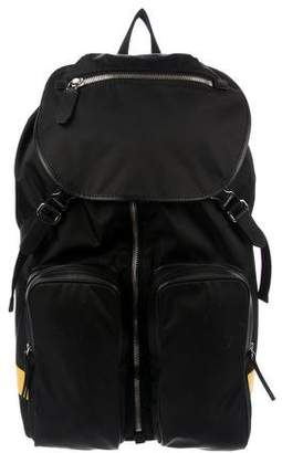 Neil Barrett Cargo Pocket Nylon Backpack
