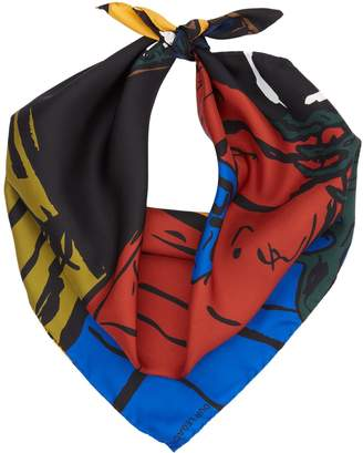 Our Legacy Empty Cottage Silk Scarf
