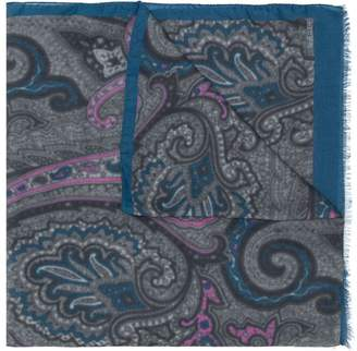 Etro paisley pattern scarf