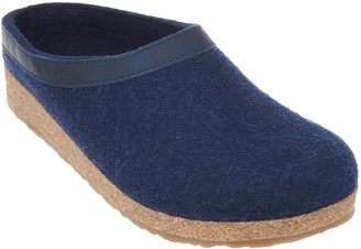Haflinger Grizzly Wool Felt Clogs - GZL