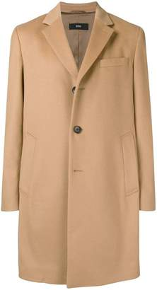 HUGO BOSS straight fit coat