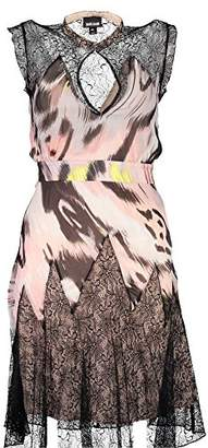Just Cavalli Womens Ikat Butterfly Print Dress