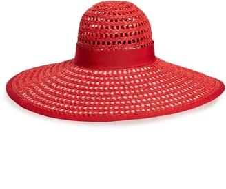 Eugenia Kim Sunny Woven Wide Brim Hat