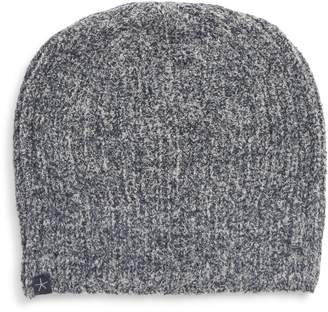 Barefoot Dreams r) Circle Heathered Ribbed Beanie
