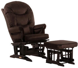 Dutailier Sleigh Glider Multiposition Recline and Nursing Ottoman