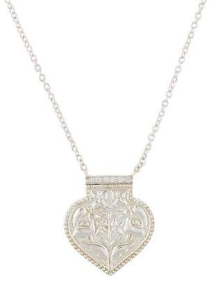 Amrapali Diamond Peacock Pendant Necklace