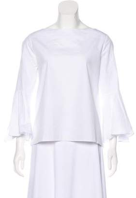 Alice + Olivia Bell Sleeve Top