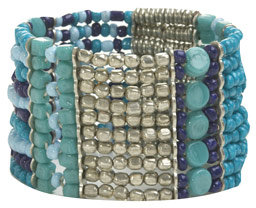Beaded Tribal Strech Bracelet
