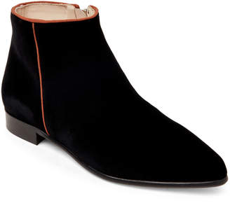 Anna Baiguera Black Anna Velvet Ankle Boots