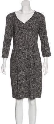 Michael Kors Printed Knee-Length Dress