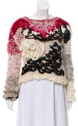 James Long Embellished Knit Sweater