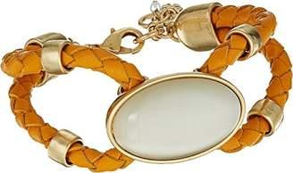 Lucky Brand Women's Cat Eye Statement Bracelet