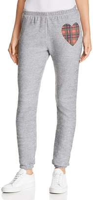 Wildfox Couture Knox Tartan Heart Sweatpants - 100% Exclusive