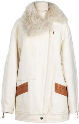 Hermes White Cotton Coats