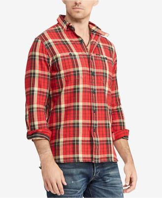 Polo Ralph Lauren Men's Classic Fit Plaid Cotton Workshirt