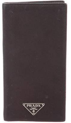 Prada Saffiano Checkbook