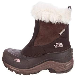 The North Face Girls' Leather Round-Toe Boots