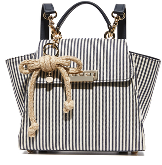 ZAC Zac Posen Eartha Striped Convertible Backpack $395 thestylecure.com