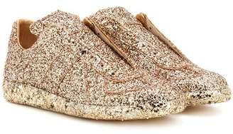 Maison Margiela Glittered slip-on sneakers
