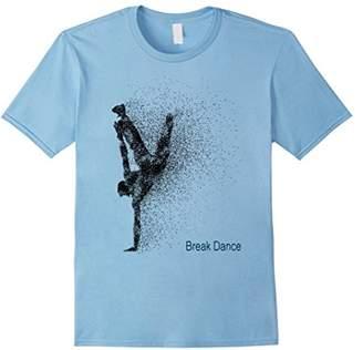 I Love Break Dance modern Sport Graphic Dance T-Shirt