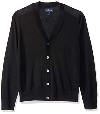 Buttoned Down Men's Italian Merino Wool Cardigan Medium