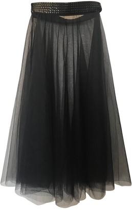 I.D. Sarrieri Black Skirt for Women