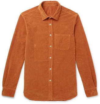 Altea Stretch-Cotton Corduroy Shirt