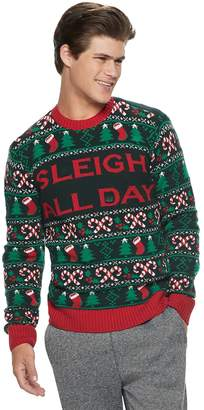 Men's Sleigh All Day Christmas Sweater