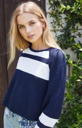 LA Hearts Boxy Crew Neck Sweater