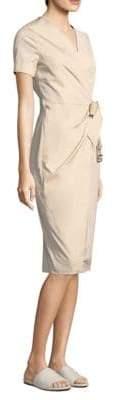 Max Mara Dalmine Wrap Dress