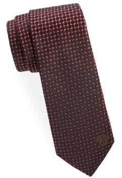 Versace Circle Silk Tie