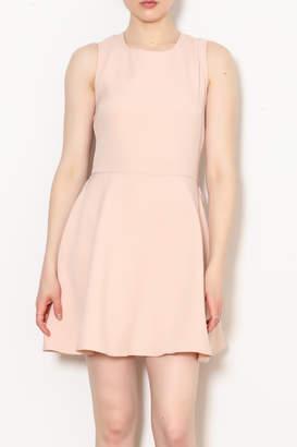 After Market Lace Up Back Dress