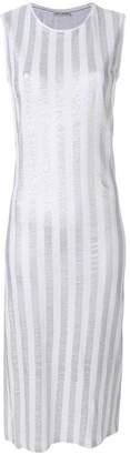 Each X Other striped sleeveless dress