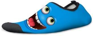 Micandle Funny Emojy Pattern Swim Water Shoes for Kids Women Men Non-Slip Aqua Sock