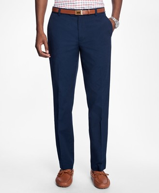 Brooks Brothers Milano Fit Supima Cotton Poplin Pants