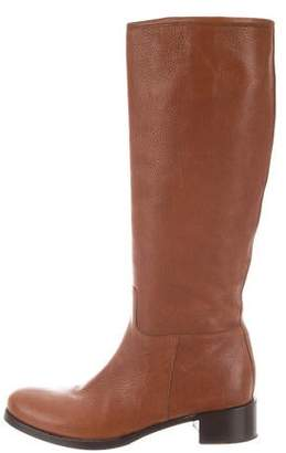 ec77611e52b Prada Stacked Heel Women s Boots - ShopStyle
