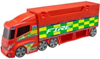 Very Teamstrez Fire Station Truck Playset