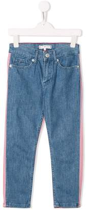 Tommy Hilfiger Junior contrast panel jeans