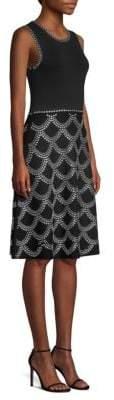 MICHAEL Michael Kors Embellished A-Line Dress