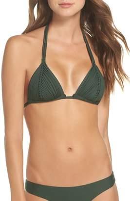 Pilyq Isla Macrame Bikini Top
