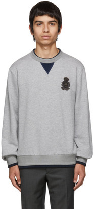 Dolce & Gabbana Grey Cashmere Plain Sweatshirt