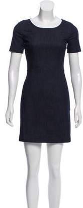 Prada Denim Sheath Dress